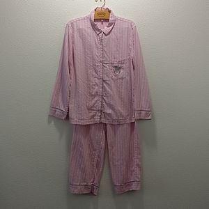 Victoria Secret Women's Button Down Pajamas S